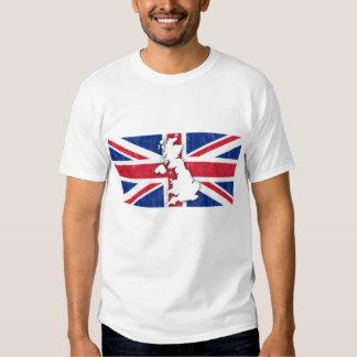 vintage Reino Unido Camiseta