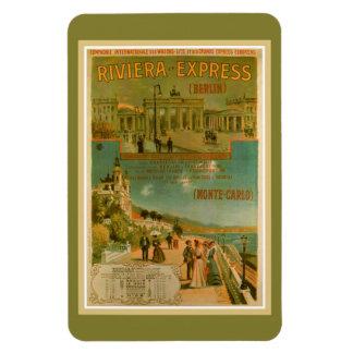 Vintage Riviera Berlín expresa Amsterdam Niza Imán