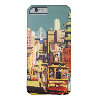 Vintage San Francisco Funda Para iPhone 6 Barely There