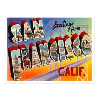 Vintage San Francisco Postal