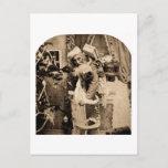 Vintage Stereoview - entrega del navidad