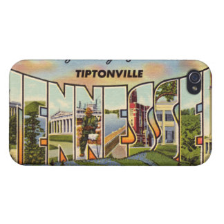Vintage Tennessee iPhone 4/4S Carcasa