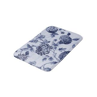 Vintage Toile floral No.2 de los azules añiles