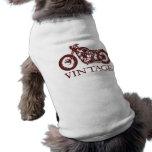 Vintage Triumph Camisa De Mascota