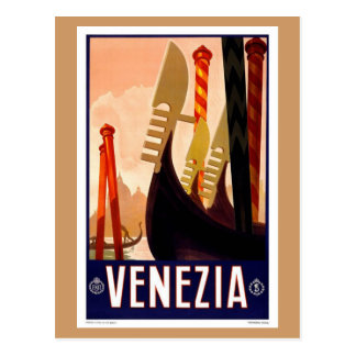 Vintage Venezia Postal