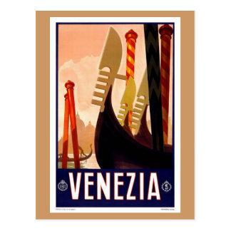 Vintage Venezia Tarjetas Postales