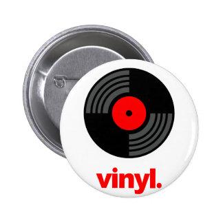 Vinyl Speldbutton