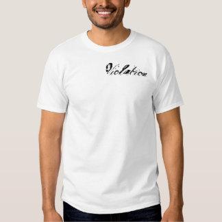 Violación Camiseta