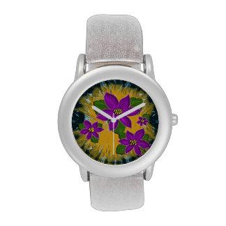 violeta africana relojes