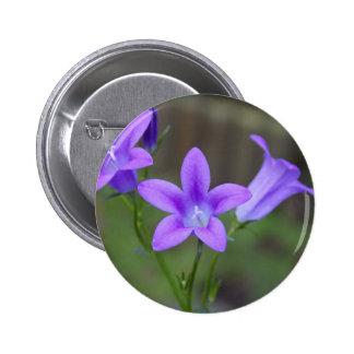 violeta chapa redonda de 5 cm