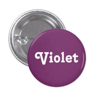 Violeta del botón