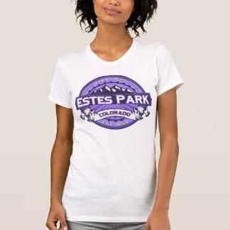 Violeta del logotipo del color del parque de Estes Camiseta
