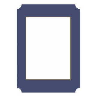 Violeta del ramillete en un jardín inglés del país invitación 12,7 x 17,8 cm