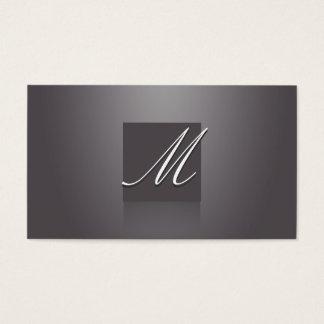 Violeta elegante tarjeta de negocios