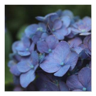 Violeta en las invitaciones crepusculares invitación 13,3 cm x 13,3cm
