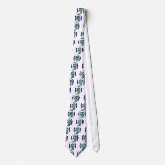 Violeta en muchas idiomas corbata personalizada
