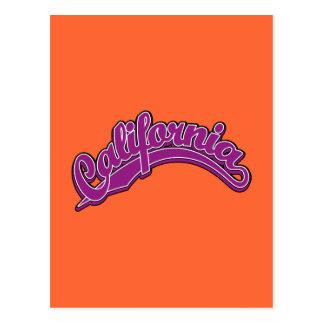 Violeta en violeta postal