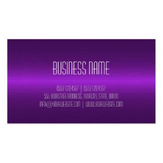 Violeta moderna elegante profesional tarjetas de visita