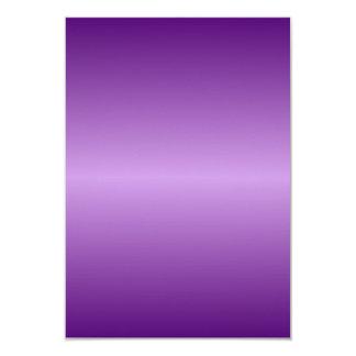 Violeta Pendiente-Oscuro de H y violado claro Invitación 8,9 X 12,7 Cm