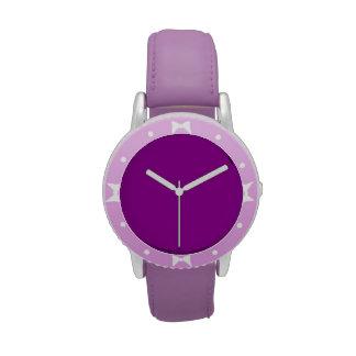 Violeta Reloj De Mano