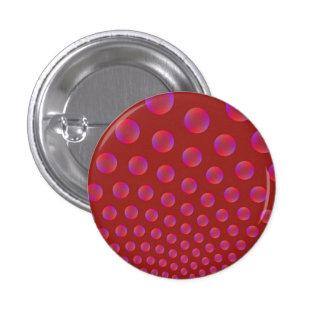 Violeta y rojo burbujea el botón de Pinback