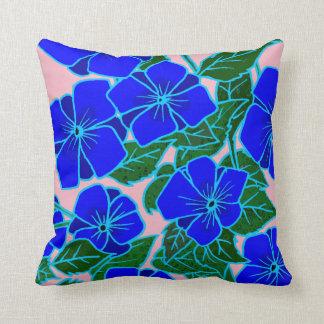 Violetas azules #6 cojín decorativo