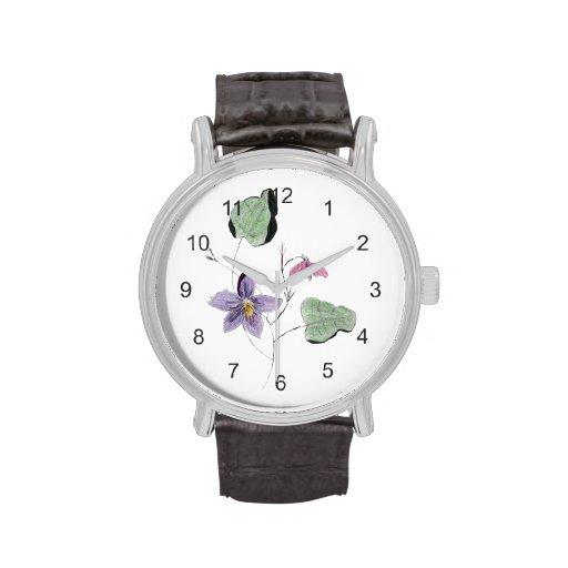 Violetas Relojes De Pulsera