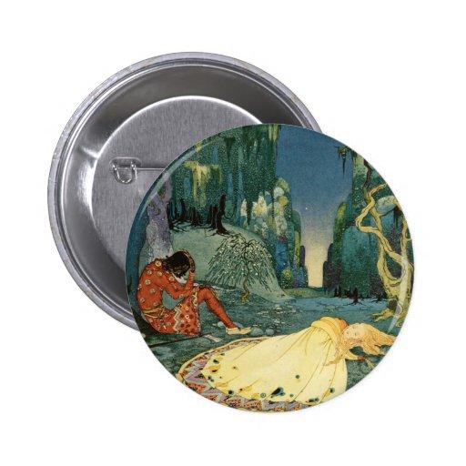 Violette que duerme en el bosque pins