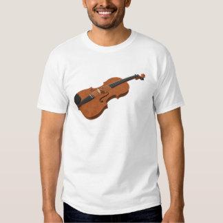 Violín: modelo 3D: Camisetas