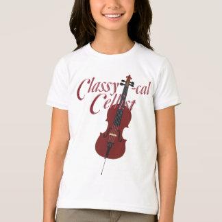 violoncelista Con clase-caloría Camiseta