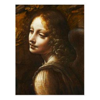 Virgen de da Vinci de la postal del ángel de las