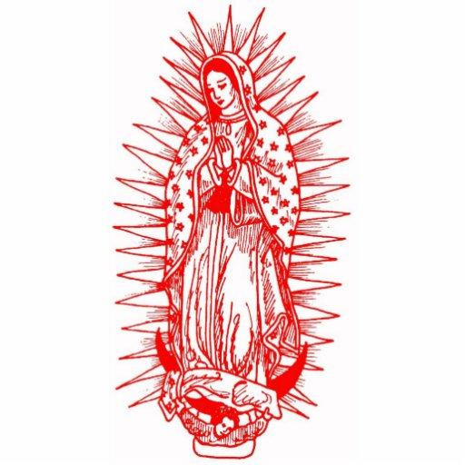 Virgen de Guadalupe Esculturas Fotograficas de Zazzle.