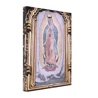 Virgen de Guadalupe Lienzo Envuelto Para Galerias