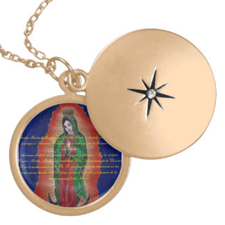 Virgen de Guadalupe Oracion Medalion Medallón
