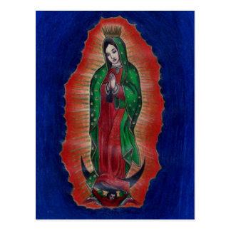 Virgen de Guadalupe Postal