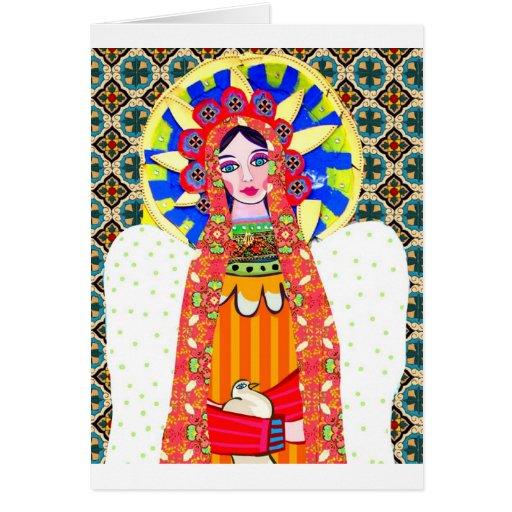 Virgen de Guadalupe Tarjetón