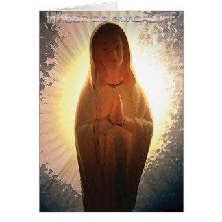 Virgen De Guadalupe Tarjeta