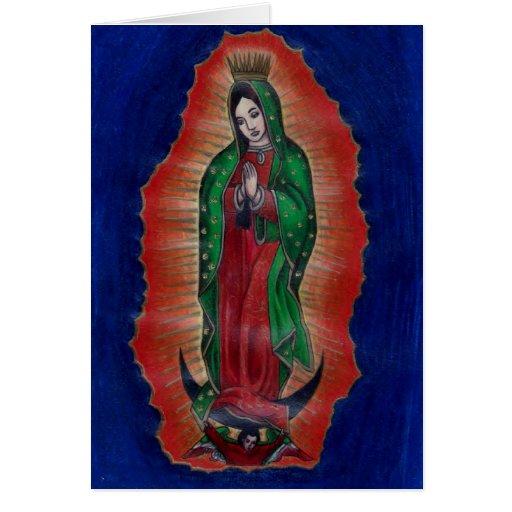 Virgen de Guadalupe Tarjetas