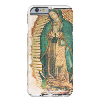 Virgen de Guadalupe (tradicional) Funda Para iPhone 6 Barely There
