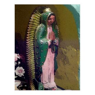 Virgen de la postal de Guadalupe