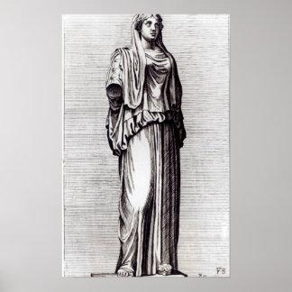 Virgen de vestal c 1653 posters