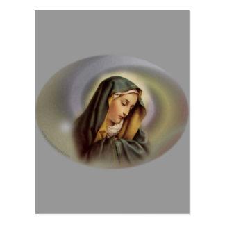 Virgen María 2 Postal