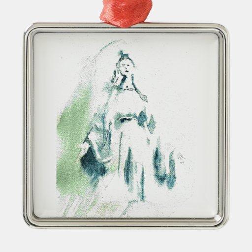 Virgen María bendecido Adorno Para Reyes
