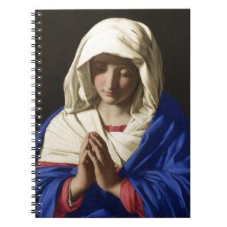 Virgen María Cuaderno