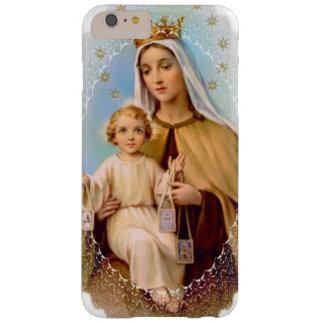 Virgen María el monte Carmelo Jesús escapular Funda Barely There iPhone 6 Plus