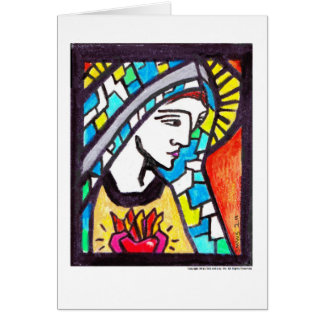 Virgen María Felicitacion