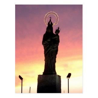 Virgen María Postal