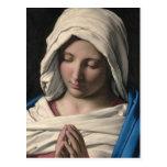 Virgen María/Virgen Maria Postal