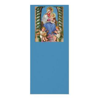 Virgen María y bebé Jesús Invitación 10,1 X 23,5 Cm