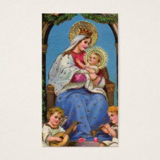 Virgen María y bebé Jesús Tarjeta De Negocios